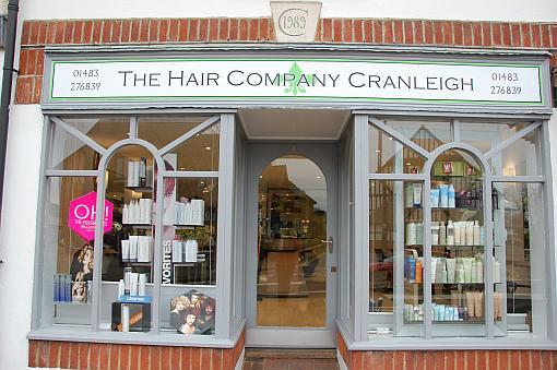 Hair Company Cranleigh Salon Front